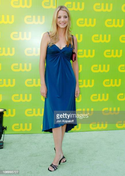 Julie Gonzalo during The CW Launch Party Arrivals at WB Main Lot in Burbank California United States