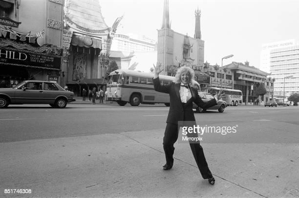 Julie Goodyear in Hollywood California 21st November 1982