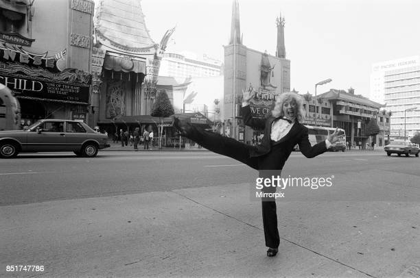 Julie Goodyear in Hollywood California 21st November 1982