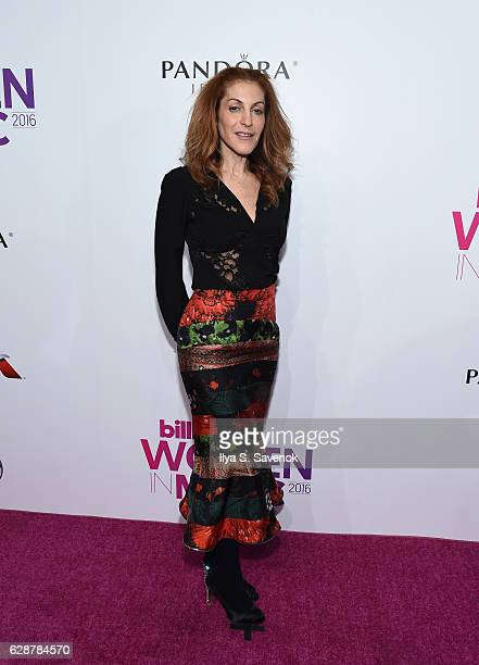 Julie Greenwald attends Billboard Women In Music 2016 airing December 12th On Lifetime at Pier 36 on December 9 2016 in New York City