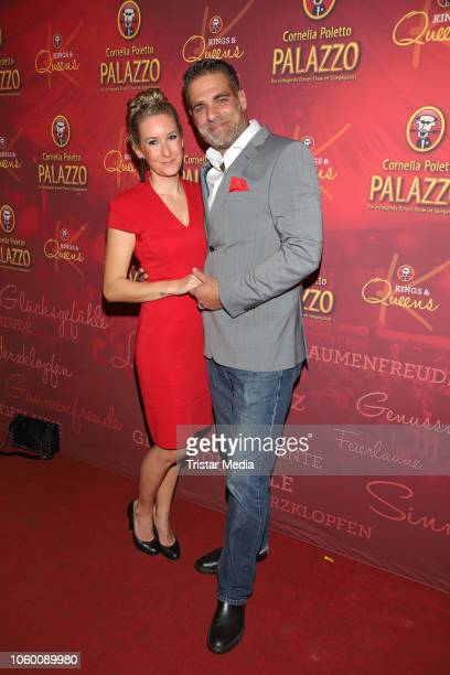 Julie Gross and Carsten Spengemann during the Cornelia Poletto Palazzo Gala Premiere on November 10 2018 in Hamburg Germany