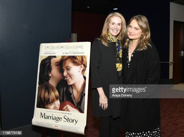 Julie Hagerty and Merritt Wever at the Film Independent Spirit Awards Screening Series Presents Marriage Story at ArcLight Culver City on January 10...
