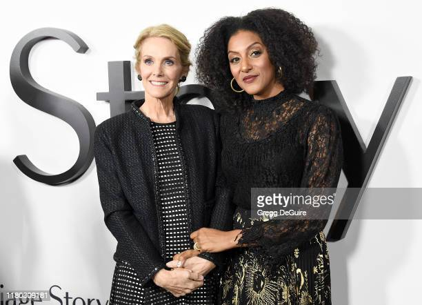 Julie Hagerty and Sarah Jones arrive at the Premiere Of Netflix's Marriage Story at DGA Theater on November 5 2019 in Los Angeles California