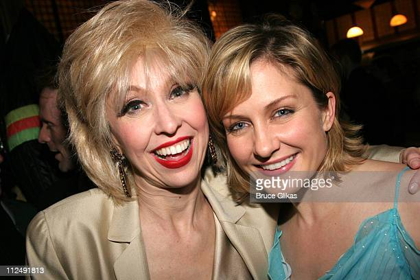Julie Halston and Amy Carlson during The Actors Fund 20th Anniversary Performance of 'Vampire Lesbians of Sodom' with Julie Halston and Charles Busch...