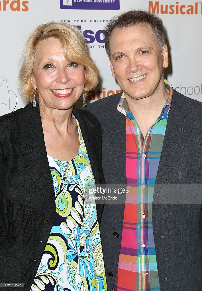 Julie Halston and Charles Busch attend the 5th Annual National High School Musical Theater Awards at Minskoff Theatre on July 1, 2013 in New York City.