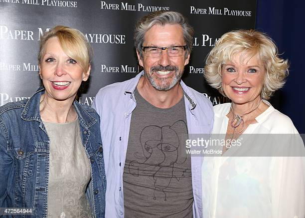 Julie Halston, Charles Shaughnessy and Christine Ebersole attend the meet the press event for 'Ever After' at The New 42nd Street Studios on May 7,...