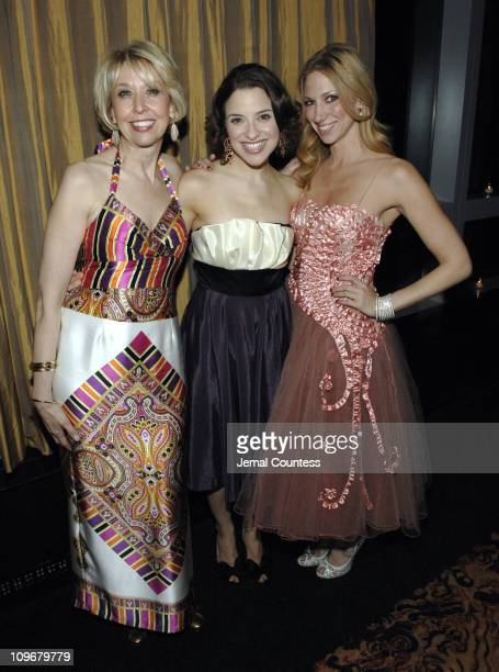 Julie Halston Jenn Gambatese and Deborah Gibson during Broadway for Medicine Benefit Gala for the National Foundation for Facial Reconstruction March...