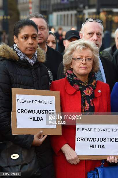 Julie Hambleton whose sister Maxine died in the 1974 Birmingham pub bombings and Michelle Sealey whose father Paul Davies was also among those killed...