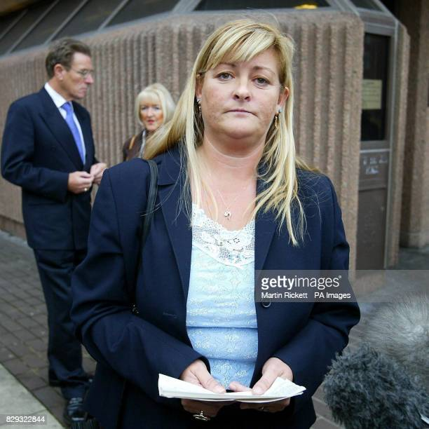 Julie Hanson mother of Tom Hanson who was knocked down and killed reads a statment outside Liverpool Crown Court Dr David Herbert was cleared of...