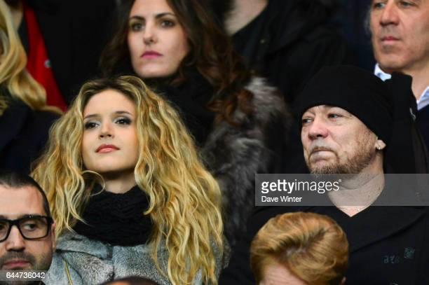 Julie HANTSON / Pascal OBISPO Paris Saint Germain / Saint Etienne 29eme journee de Ligue 1 Photo Dave Winter / Icon Sport