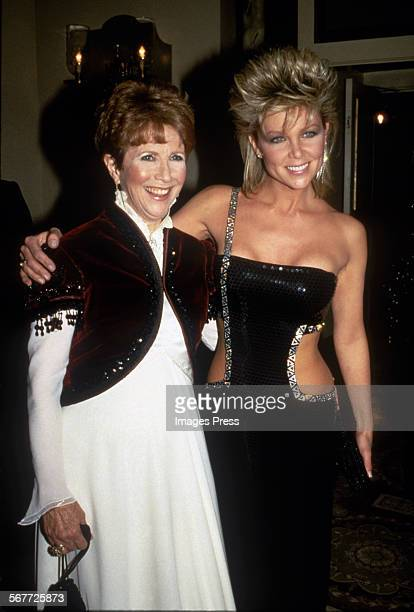 Julie Harris and Lisa Hartman circa 1985 in New York City