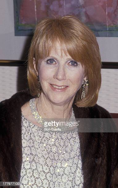 Julie Harris attends College TV Awards on March 8 1987 at the Sheraton Premiere Hotel in Los Angeles California