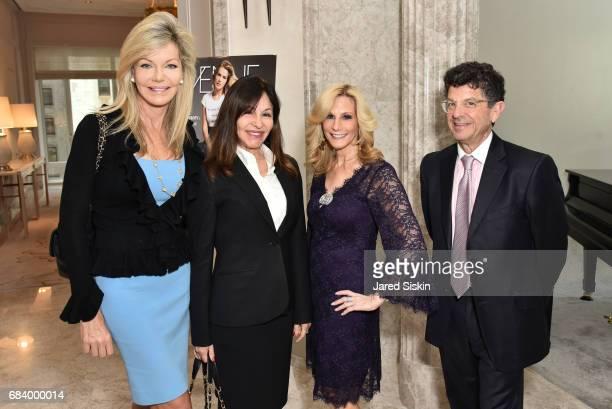 Julie Hayek Christina DeSimone Randi Schatz and Michael Gross attend AVENUE Celebrates Petra Nemcova's April/May Cover and their Philanthropy Issue...