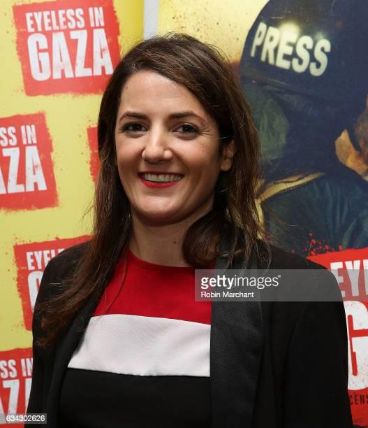 Julie Hazan attends Eyeless In Gaza NYC Premiere Screening on February 8 2017 in New York City