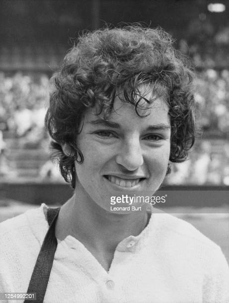 Julie Heldman of the United States before her Women's Singles second round match against Kazuko Sawamatsu at the Wimbledon Lawn Tennis Championship...