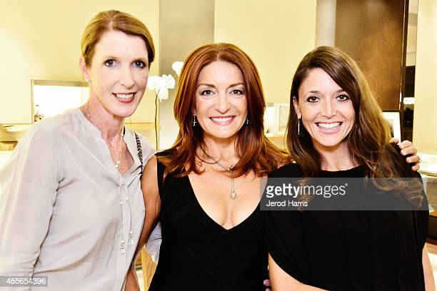 Julie Hellmers Analisa Albert and Stacie Brewster attend David Yurman with RIVIERA host an instore event to celebrate the 'Enduring Style' fall...