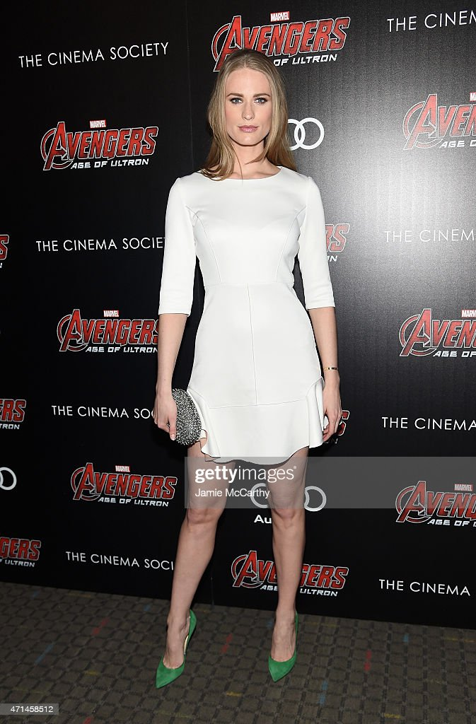"The Cinema Society & Audi Host A Screening Of Marvel's ""Avengers: Age Of Ultron"" - Inside Arrivals"