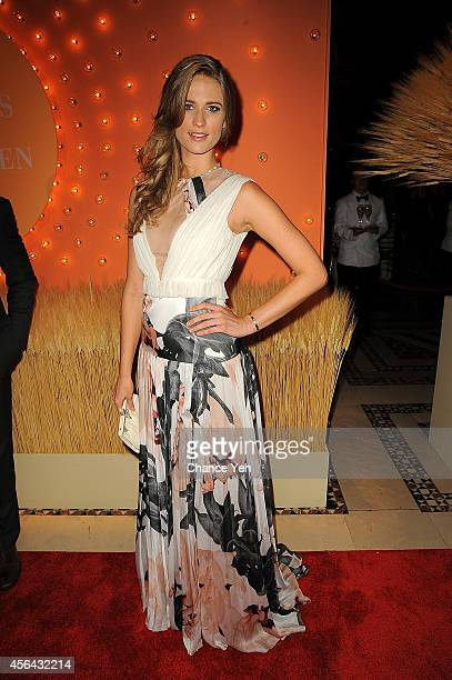 Julie Henderson attends 15th Annual New Yorkers For Children Gala at Cipriani 42nd Street on September 30 2014 in New York City
