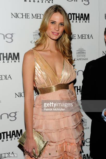 Julie Henderson attends ALICIA KEYS Hosts GOTHAM MAGAZINES Annual Gala Presented by BING at Capitale on March 15 2010 in New York City