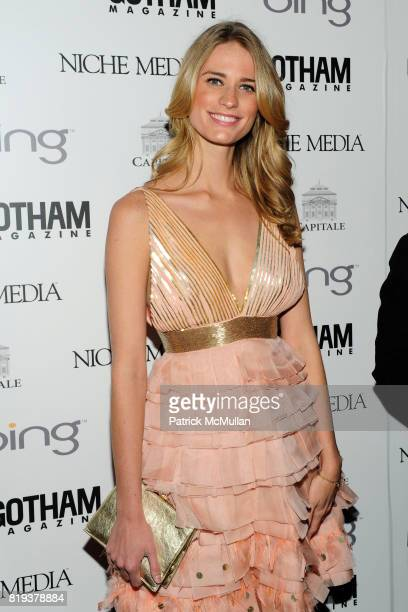 Julie Henderson attends ALICIA KEYS Hosts GOTHAM MAGAZINES Annual Gala Presented by BING at Capitale on March 15, 2010 in New York City.