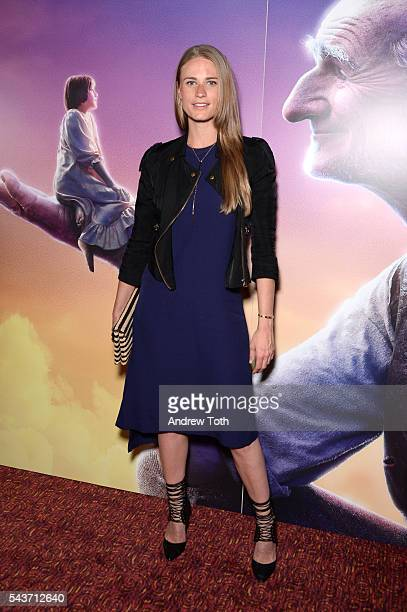 Julie Henderson attends Disney The Cinema Society host a screening of The BFG at Village East Cinema on June 29 2016 in New York City