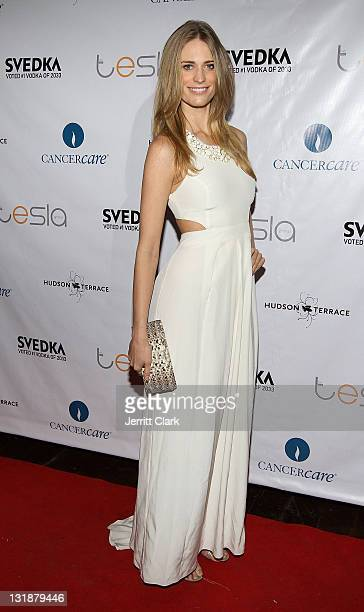 Julie Henderson attends the 3rd Annual A.E.R. Walk With Style Gala to Benefit CancerCare at Hudson Terrace on March 31, 2011 in New York City.