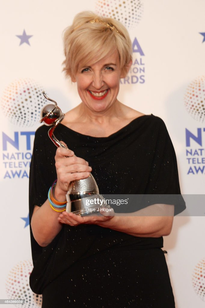 National Television Awards - Winners Room : News Photo