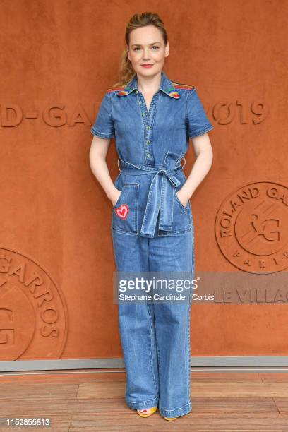 Julie Judd attends the 2019 French Tennis Open Day Six at Roland Garros on May 31 2019 in Paris France