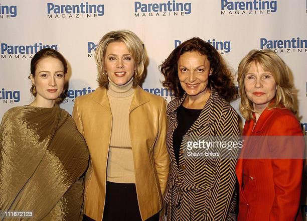 Julie Kent Deborah Norville Diane von Furstenberg and Donna Hanover