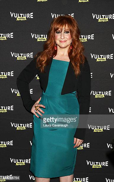 Julie Klausner attends 'Difficult People' Table Read 2016 Vulture Festival at Milk Studios on May 21 2016 in New York City