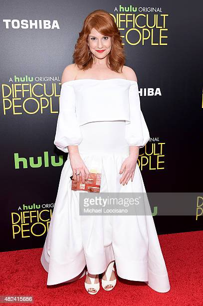 Julie Klausner attends the New York Premiere of Difficult People at the School of Visual Arts Theater on July 30 2015 in New York City
