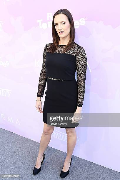 Julie Lake arrives at Variety's Celebratory Brunch Event For Awards Nominees Benefiting Motion Picture Television Fund at Cecconi's on January 28...