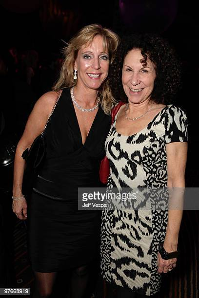 Julie Landon and Rhea Perlman attend the after party for the Avatar Los Angeles premiere at Propr Store on December 17 2009 in Venice California