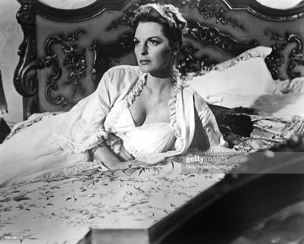 Julie London Us Singer And Actress Wearing A White
