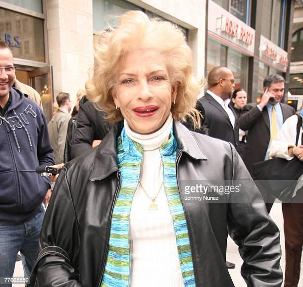 Julie Lucas sighting on November 2 2007 in New York City