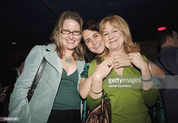Julie Lynn producer of Nine Lives Kelly Thomas producer of Nine Lives and Mary Kay Place