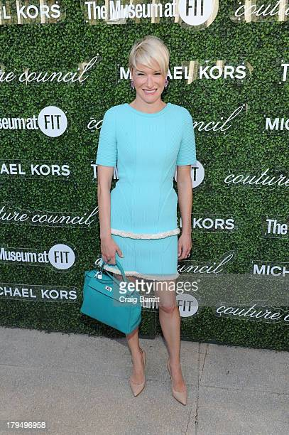 Julie Macklowe attends The Couture Council of The Museum at the Fashion Institute of Technology hosted luncheon honoring Michael Kors with the 2013...