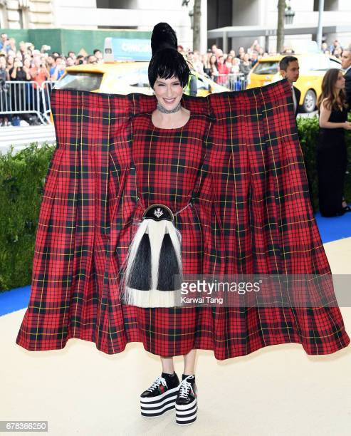 Julie Macklowe attends the 'Rei Kawakubo/Comme des Garcons Art Of The InBetween' Costume Institute Gala at the Metropolitan Museum of Art on May 1...