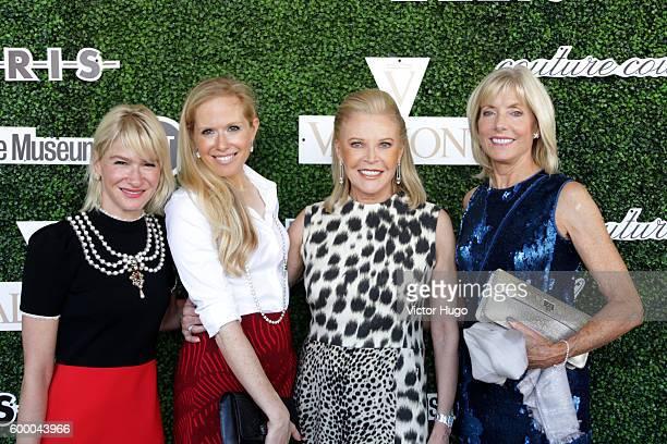 Julie Macklowe Lisa Klein Audrey Gruss and Liz Peek attend the 2016 Couture Council Award Luncheon Honoring Akris Creative Director Albert Kriemlerat...