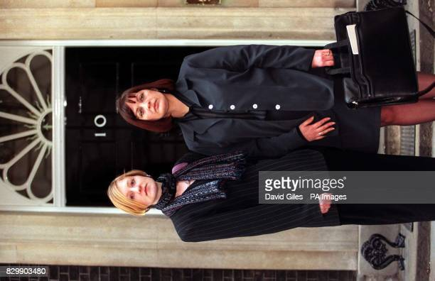 Julie Mangan and Katherine Mosley on the doorstep of No10 Downing Street this afternoon The Prime Minister today assured the releatives of Britons...