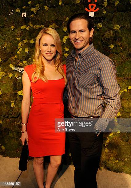 Julie Marie Berman and Michael Grady attend the 3rd Annual Fluffball on April 28 2012 in Los Angeles California