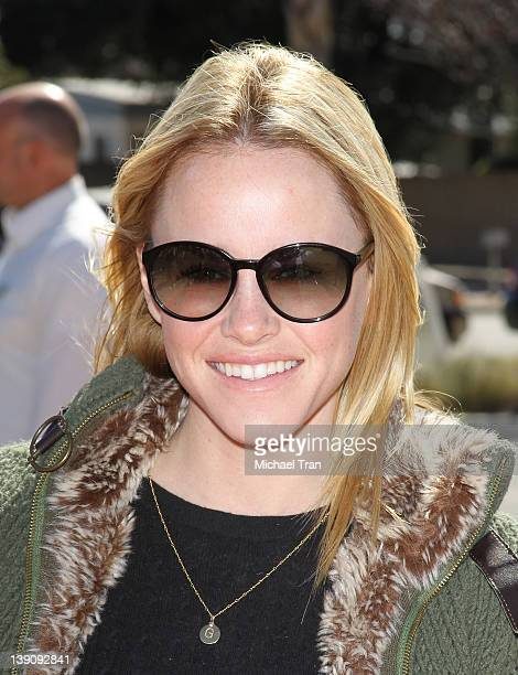 Julie Marie Berman attends the Best Friends Animal Society pet adoption and spay/neuter services grand opening held at Northeast Valley Shelter on...