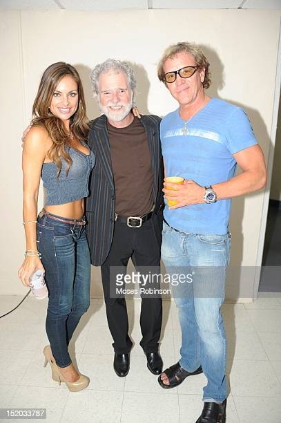 Julie McGee Recording artist Chuck Leavell and Jack Morgan attend the Capricorn Experience at the Chastain Park Amphitheater on September 14 2012 in...