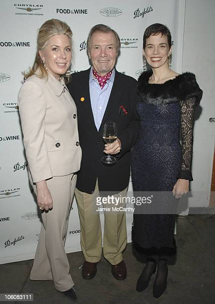 Julie McGowan Senior Vice President and Publisher of Food Wine Magazine Jacques Pepin and Dana Cowin Editor in Chief of Food Wine Magazine