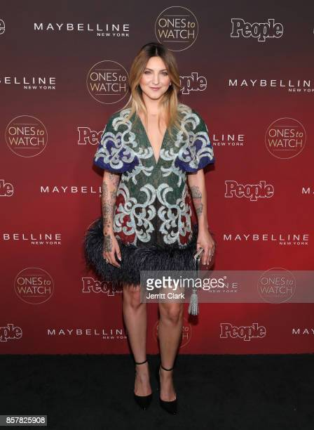 Julie Michaels attends People's Ones To Watch at NeueHouse Hollywood on October 4 2017 in Los Angeles California