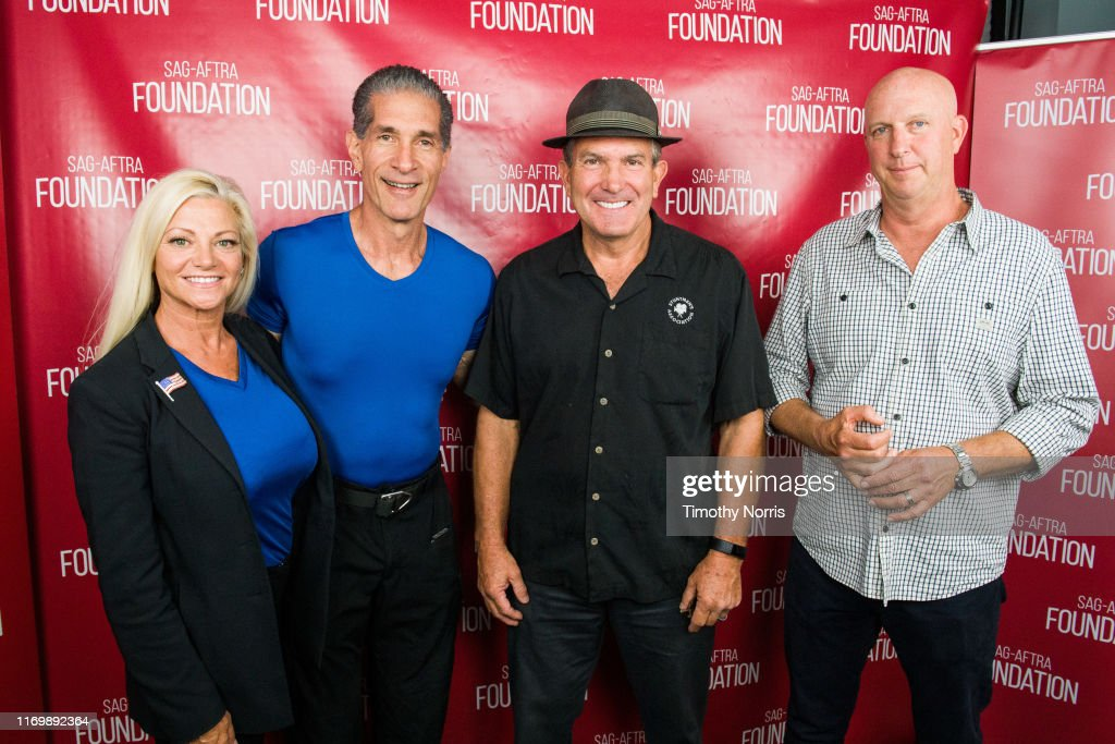 SAG-AFTRA Foundation Conversations: Emmy Nominated Stunt Performers : News Photo