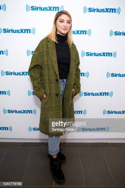 Julie Michaels visits SiriusXM Studios on October 2 2018 in New York City