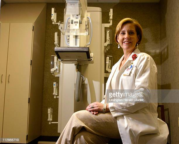 Julie Miller, M.D., a radiologist in breast imaging, at Central Baptist Hospital in Lexington, Kentucky, October 17, 2006. Dr. Miller has had a...