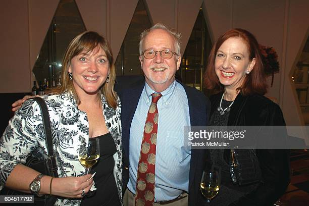 Julie Miltenberger Michael Tyrrell and Nancy Hopkins attend SANDRA LEE SemiHomemade Cookbook Series Launch Party hosted by JACK GRIFFIN and MICHAEL...