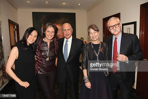 Julie Minskoff Dominique Levy Edward Minskoff Brooke Garber Neidich and Dr Al Ravitz attend The Child Mind Institute's On the Shoulders of Giants...